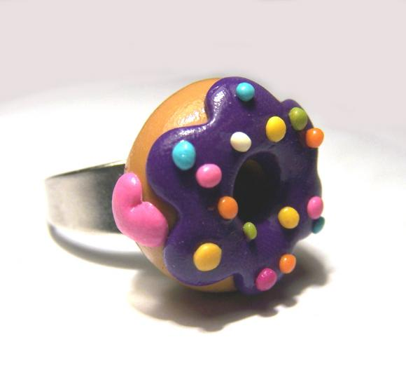 bague i love donut, miss cook
